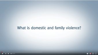 Family Law | Gold Coast | Advance Family Law | What is domestic and family violence?
